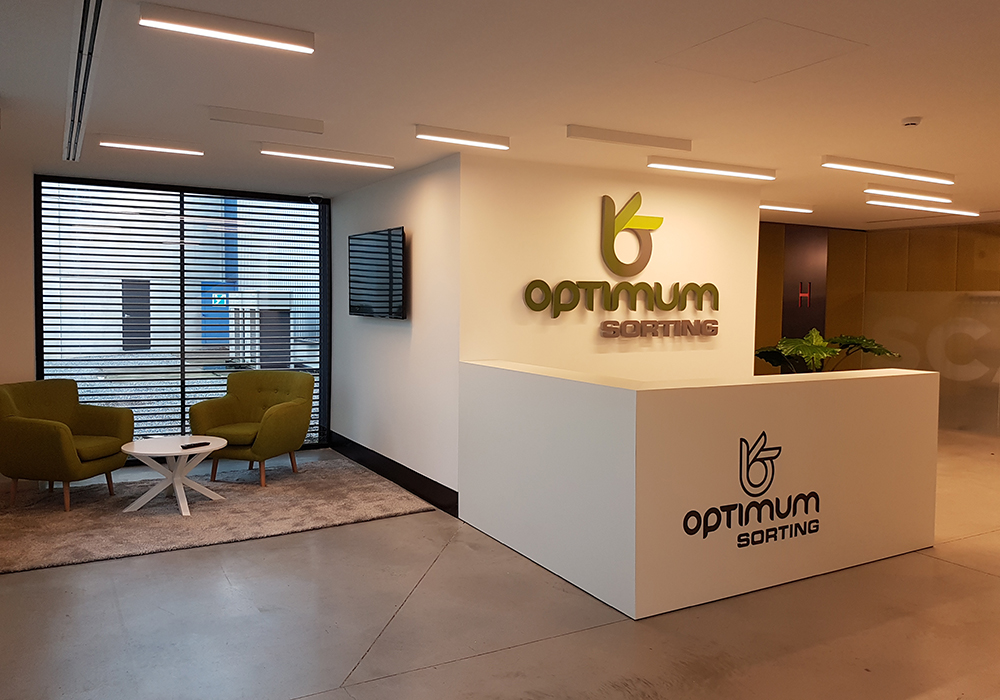 Optimum is ready to completely redraw the landscape for optical sorting machines