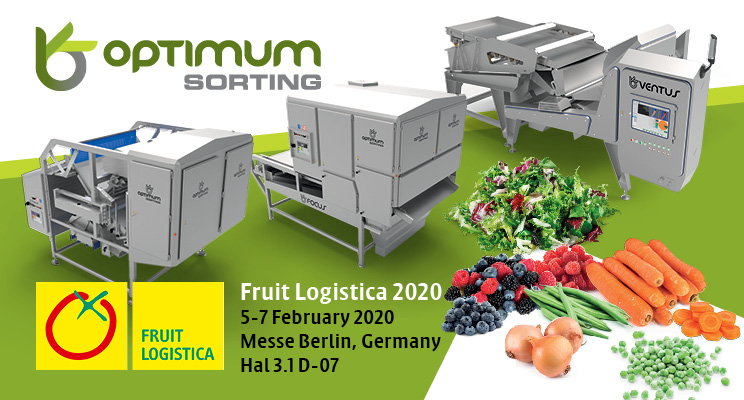 Visit Optimum-Sorting at Fruit Logistica, Berlin