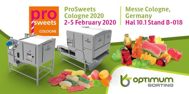 Visit us @ ProSweets 2020
