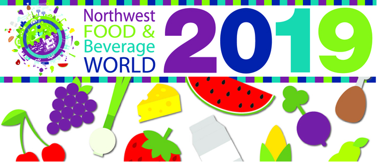 Visit us at the 2019 Food & Beverage World in Portland, Oregon